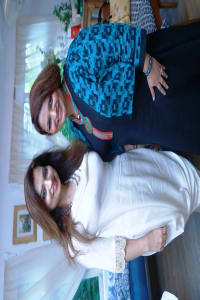 Designer Preeti Ghai and Entrepreneur Ruchiekka Krishnani