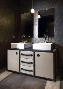 Double TRAVELER bath cabinet