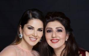 Actress Sunny Leone and Designer Archana Kochhar