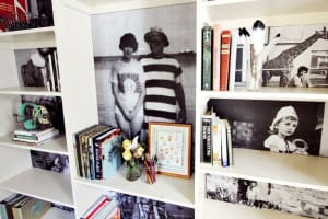 7. Enhance your bookshelf