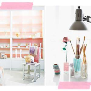 6. Furbish your walls with 'Washi tape'