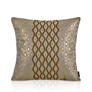 Sintra Gold Foil Linen Cushion-Rs.2000