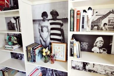 """Photo Bookshelf"""