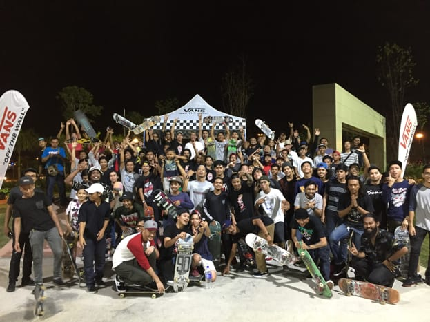 Skaters from Malaysia