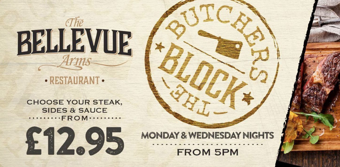 Every Wednesday Night is Steak Night
