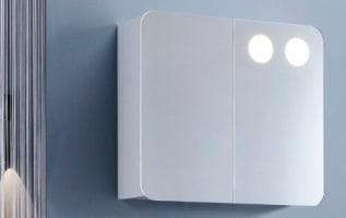 Smart Spejl med lys | Køb dit badeværelsesspejl hos BilligVVS QV96