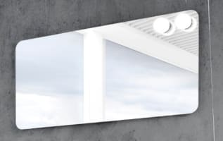 Tidsmæssigt Spejl med lys | Køb dit badeværelsesspejl hos BilligVVS ME-13