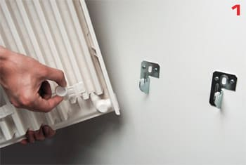 montering af radiator