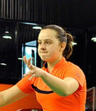 Yelyzaveta ZHARKA