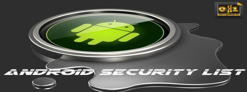 Android Security List