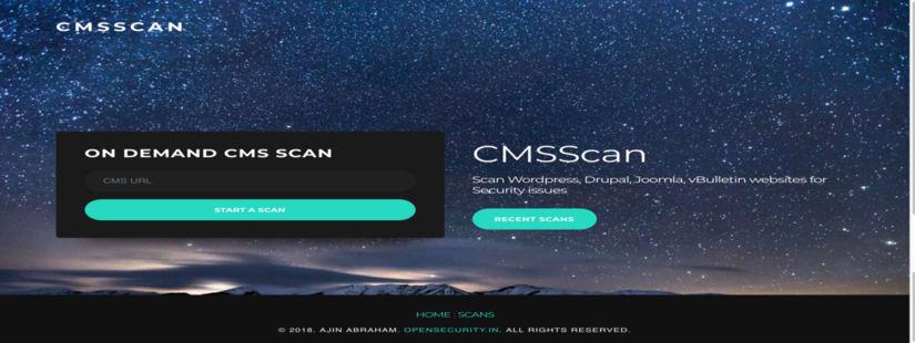 CMS Scan