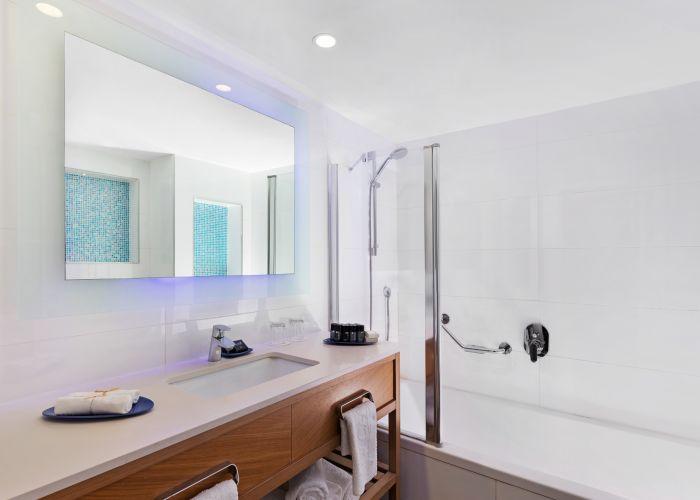 חדר אמבט בחדר דלקס