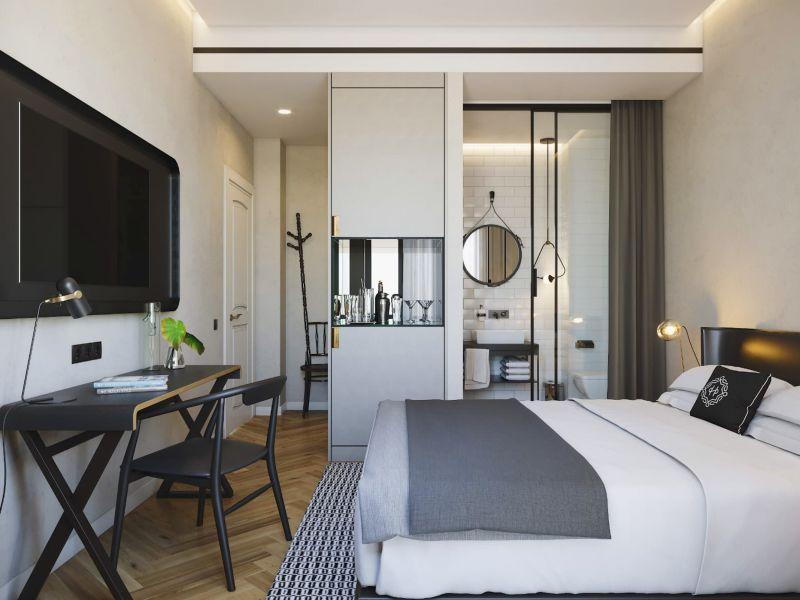 חדר במלון סר הרברט סמואל בוטיק