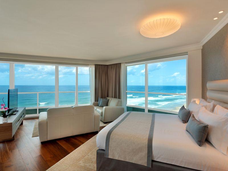 סוויטת אושן מלון אוקיינוס סוויטס הרצליה