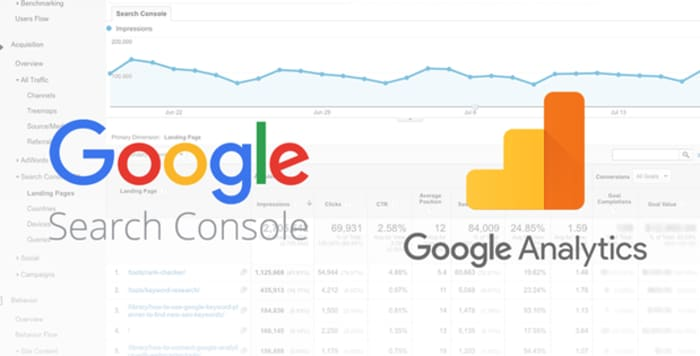 Come Integrare Google Analytics e Google Search Console