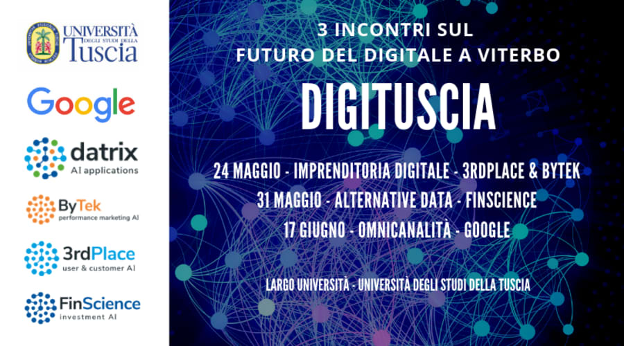 DigiTuscia: Digitalizzazione e Imprenditoria Digitale
