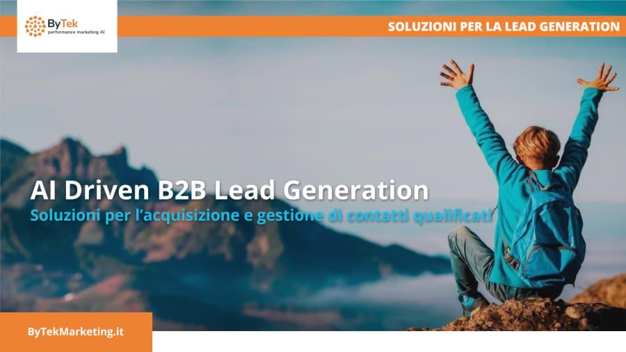 Tecniche di Lead Generation B2B e Vendita da Remoto
