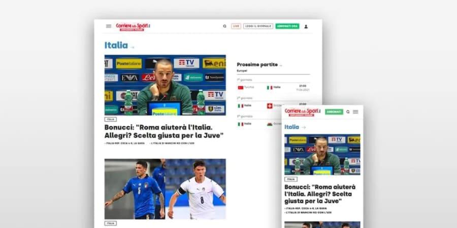 Sport Network: l'AI che potenzia le Redazioni Web