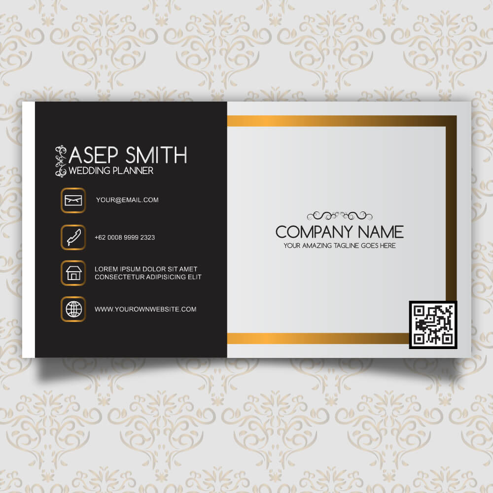 Hotel visiting Card design double sided - Bkdesigns