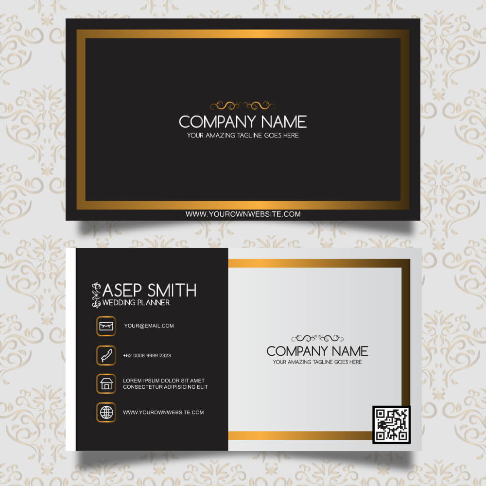 Hotel visiting card design double sided bkdesigns hotel visiting card colourmoves