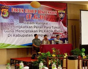 Kapolres Lamteng Akbp Slamet Wahyudi Buka Acara Fgd Cermin Indonesia
