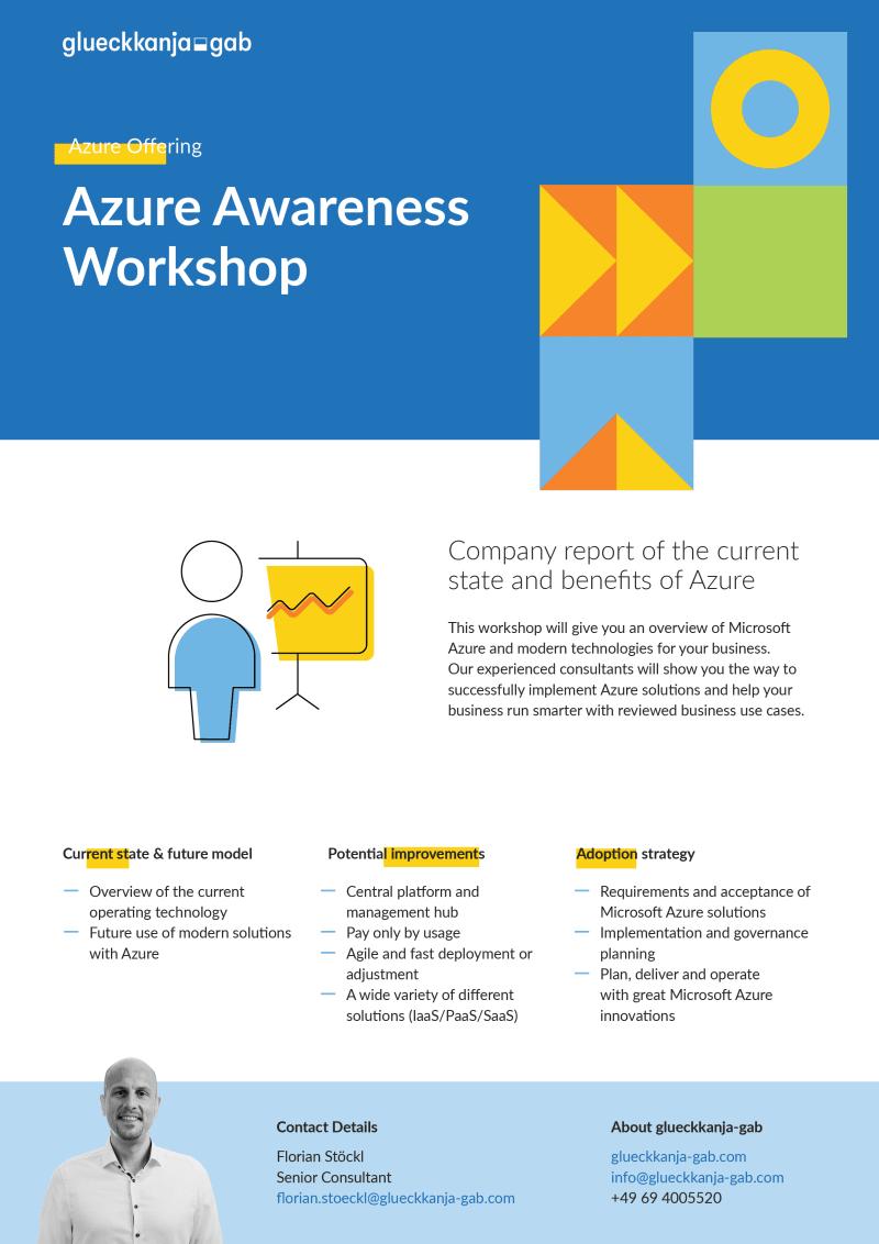Azure Awareness Workshop