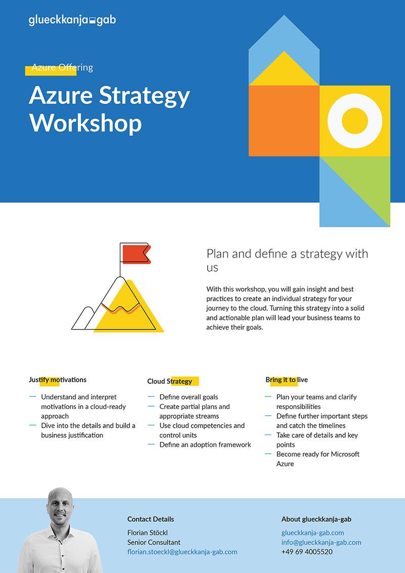 Azure Strategy Workshop