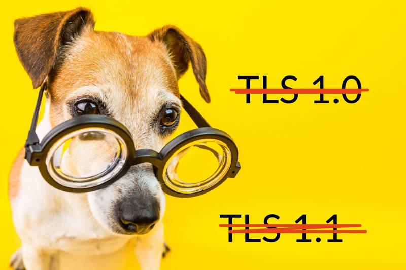 Bye bye TLS 1.0 and TLS 1.1!