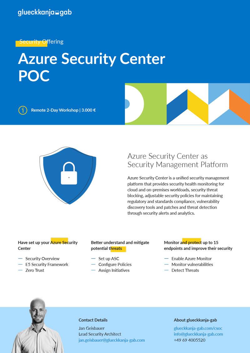 Azure Security Center POC