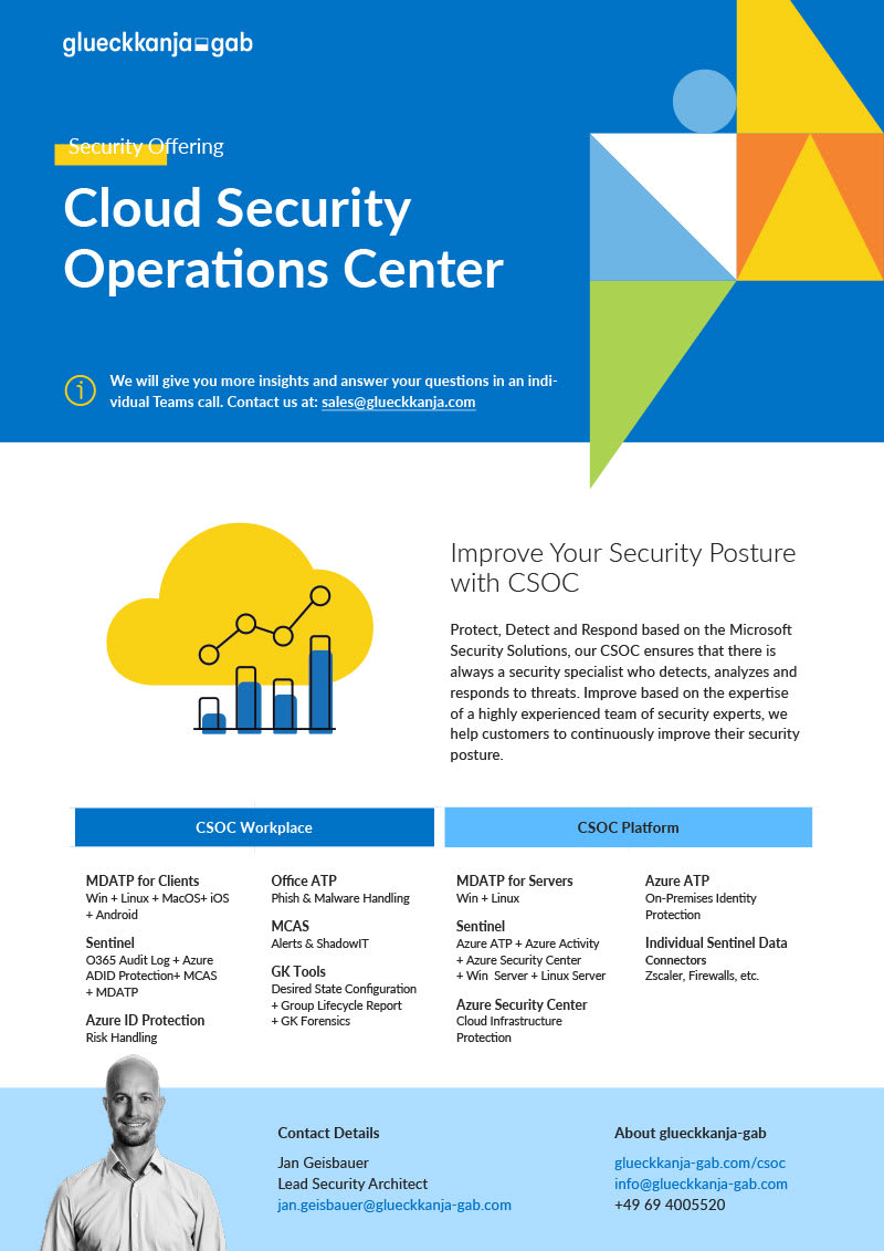 Cloud Security Operations Center