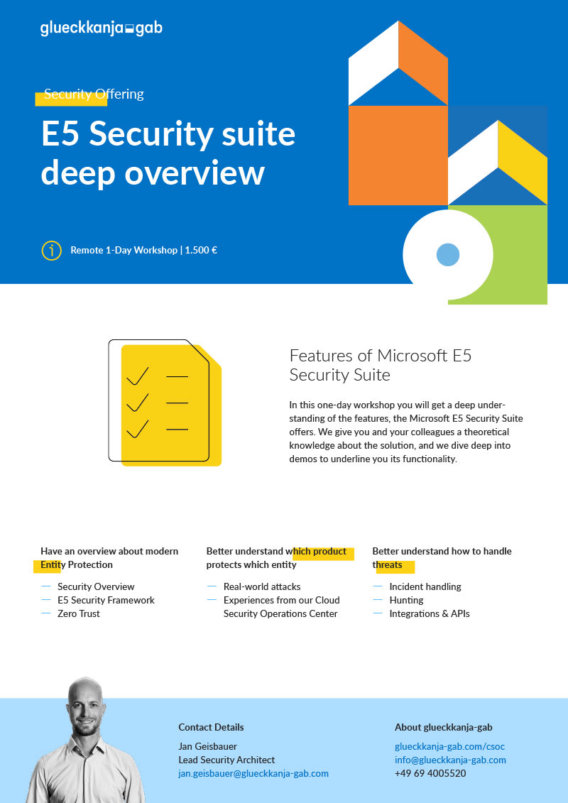 E5 Security Suite Deep Overview