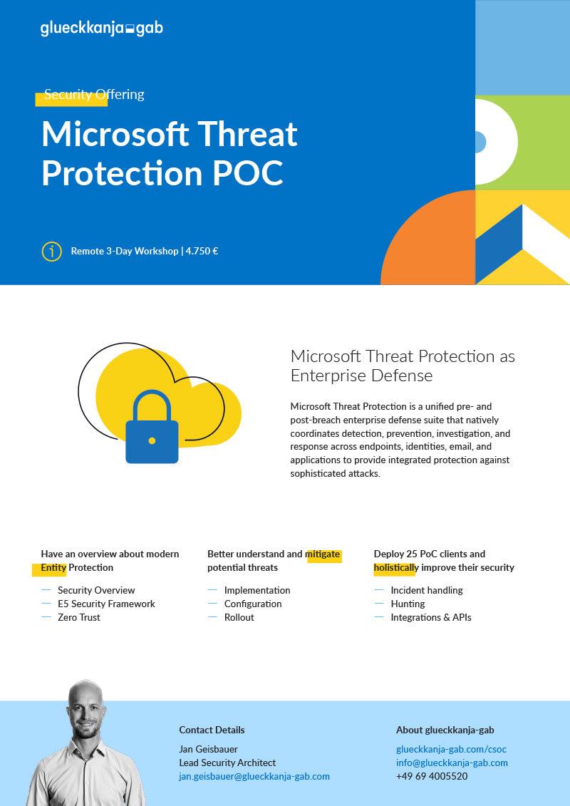 Microsoft Threat Protection POC