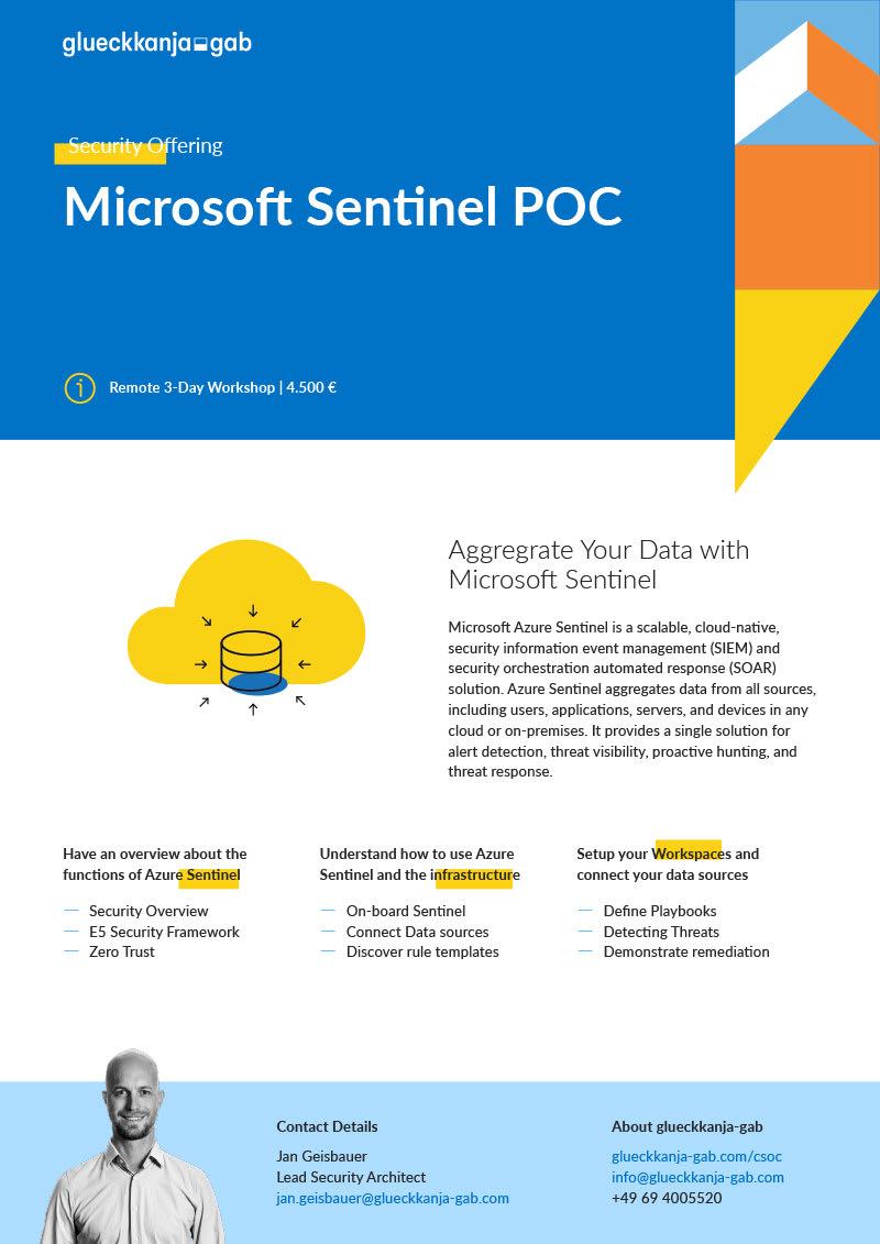 Microsoft Sentinel POC