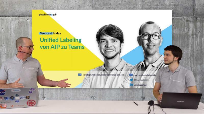 Unified Labeling von AIP zu Teams