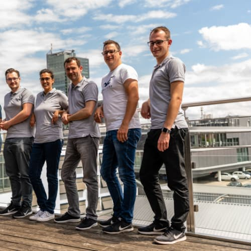 Sieben neue Mitarbeiter im ersten Halbjahr. Wir sagen Herzlich Willkommen