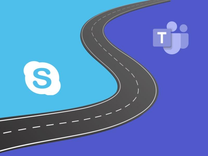 Skypst Du noch oder teamst Du schon?