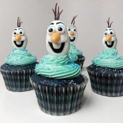 Motivcupcakes - aus dem Film Anna und Elsa