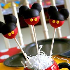 Cake Pop - Micky Maus
