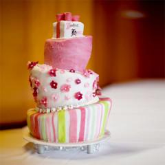 Torte dreistöckig - asymmetrisch