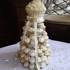 Hochzeitstorte einstöckig - Big Cupcake
