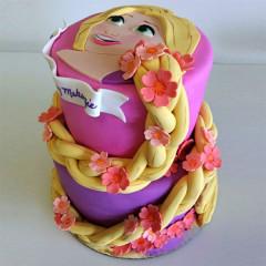 Motivtorte zweistöckig - Rapunzel