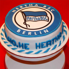 Hertha BSC - Fussballtorte