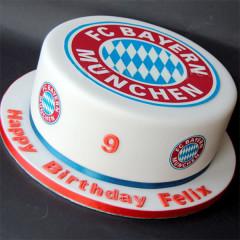 FC Bayern München - Fussballtorte