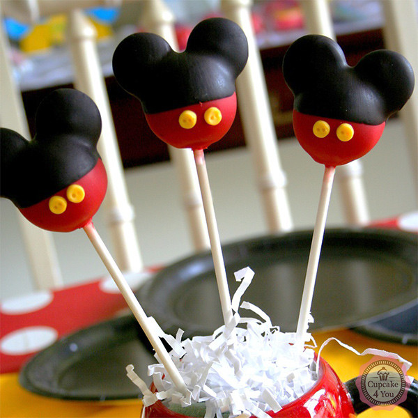 cake pop micky maus cake pops cupcake 4 you. Black Bedroom Furniture Sets. Home Design Ideas
