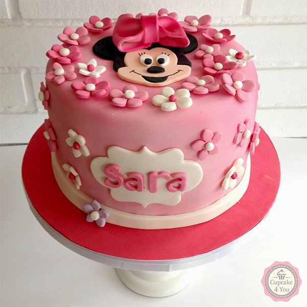 Minnie Mouse Cake And Cupcake Ideas