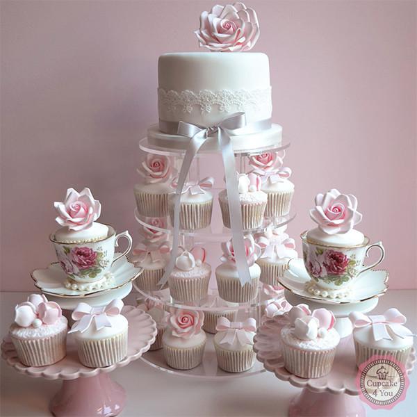 Kuchen Torten 104 - Hochzeitstorten