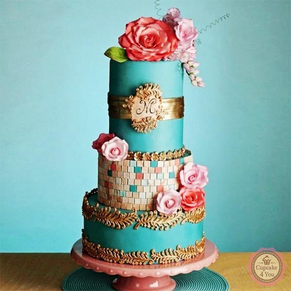 Kuchen Torten 20 - Hochzeitstorten