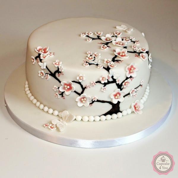 Kuchen Torten 57 - Hochzeitstorten