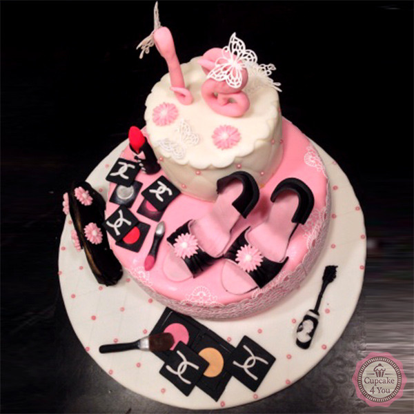 Motivorte Zweistockig Beauty Cupcake4you
