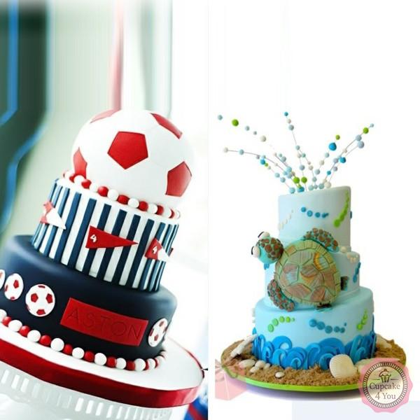 Kuchen Torten 95 - Geburtstagstorten